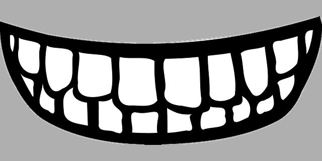 False teeth costs with white teeth