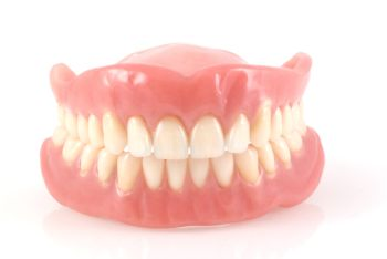 Whitening False Teeth