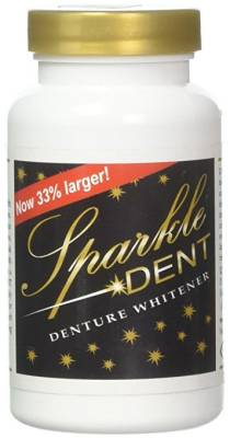 Sparkle-Dent Denture Whitener
