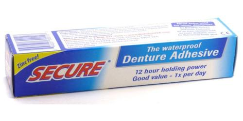 Dentek Secure Denture Bonding Cream