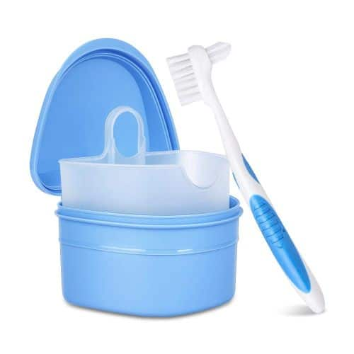 Y-Kelin Denture Cleaning Case and Brush