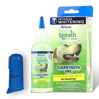 Tropiclean Fresh Breath Whitening Clean Teeth Gel For Dogs