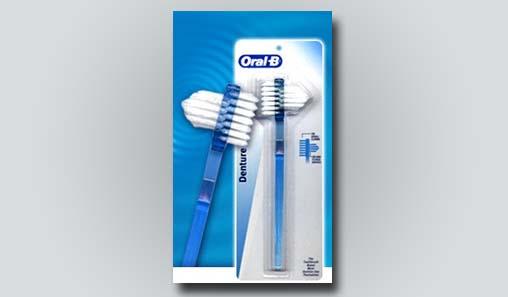 Denture brush options