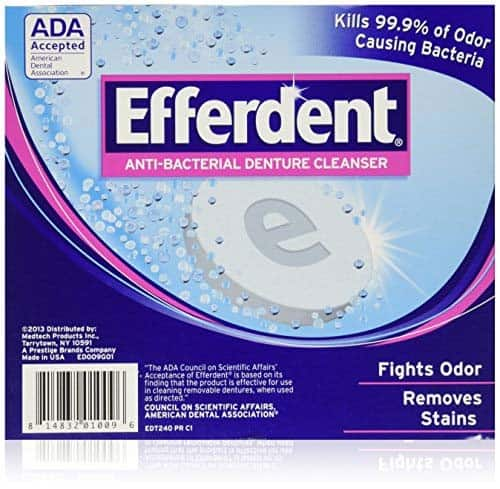 Efferdent Denture Cleanser