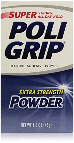 PoliGrip Super Denture Adhesive Powder