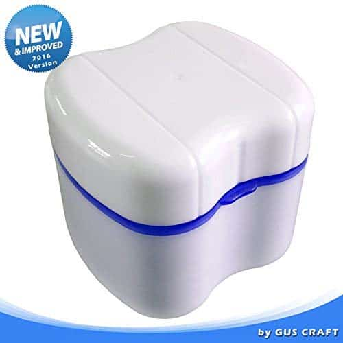 Strong Denture Box with Simple Retrieval Tab