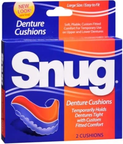 Snug Denture Cushions