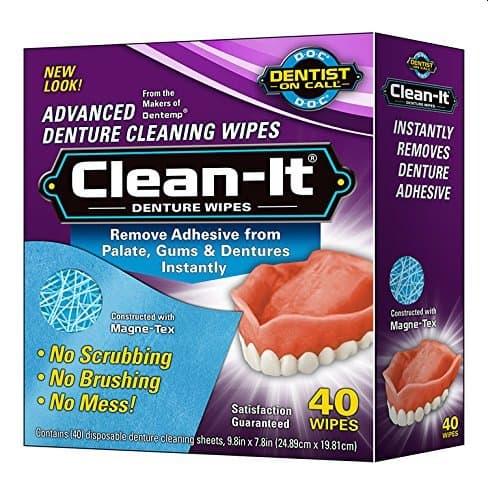 Clean-It Denture Wipes