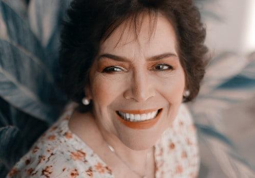 full mouth rehabilitation woman smiling